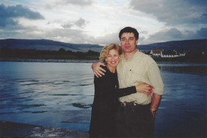 With poet David Whyte, Ballyvaughn, Ireland