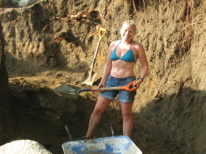 Digging out the foundation